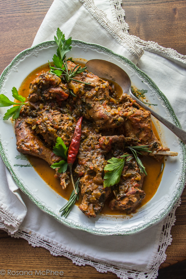 Ischia Style Rabbit Recipe Hot And Chilli