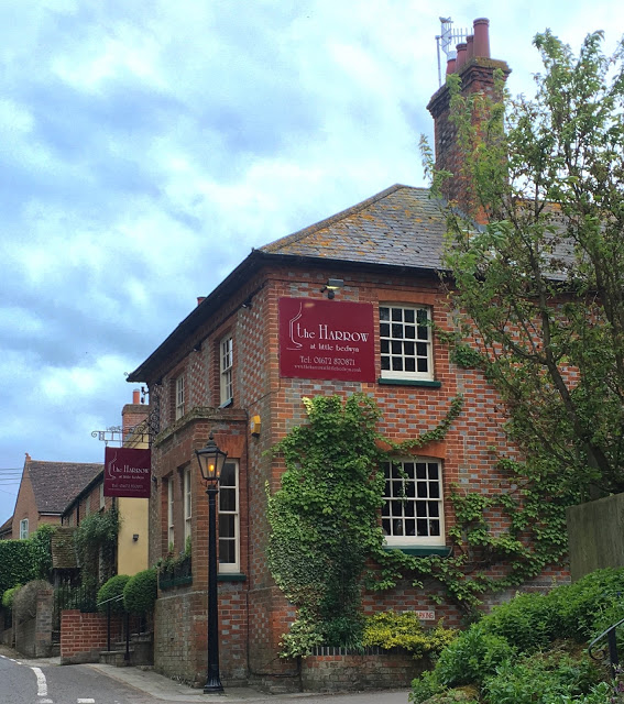 Wiltshire, lunch at Michelin-starred The Harrow at Little Bedwyn