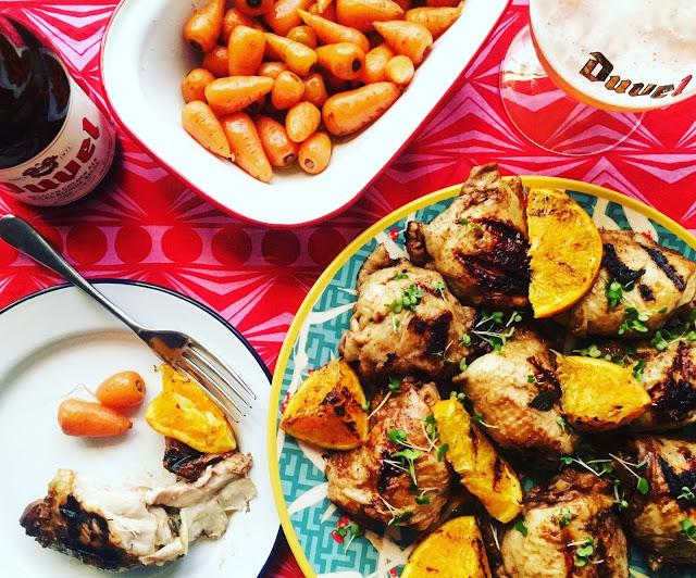 BBQ season: honey and orange chicken recipe