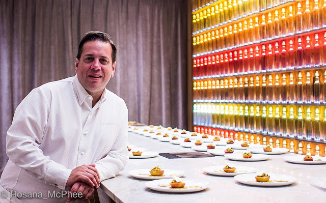 Michelin starred Chef Arnauld Lallement