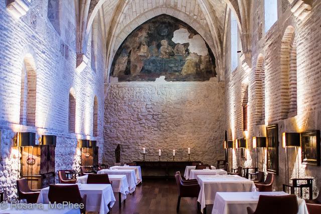 Abadia Retuerta Le Domaine: michelin-starred meal at Refectorio