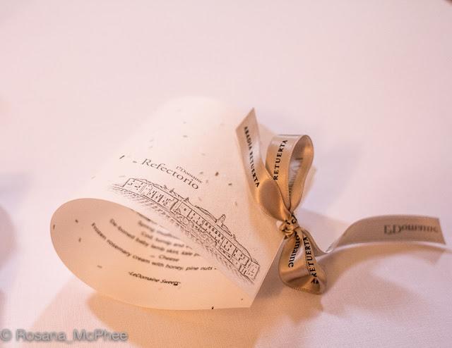 Abadia Retuerta, Michelin star Refectorio