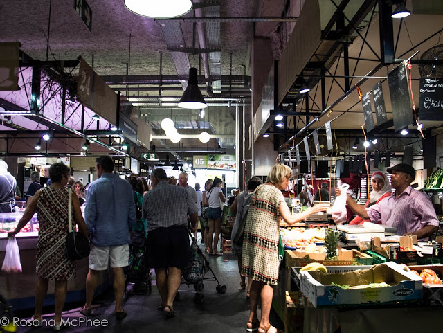 Food market in Savoie Mont Blanc Chambery