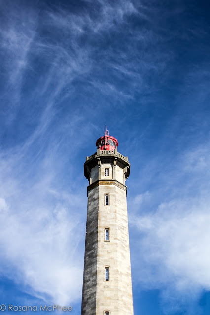 Les  Baleines Lighthouse