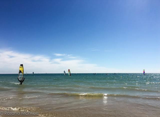 sailing in Ile de Ré