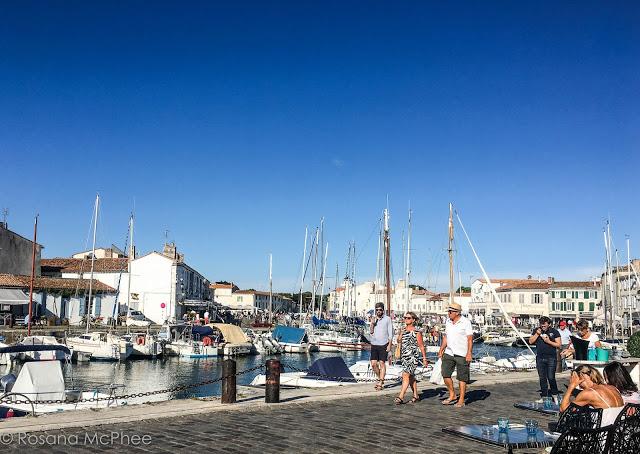 Saint-Martin-de-Ré port town