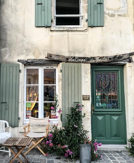 Pretty houses of Saint-Martin-de-Ré