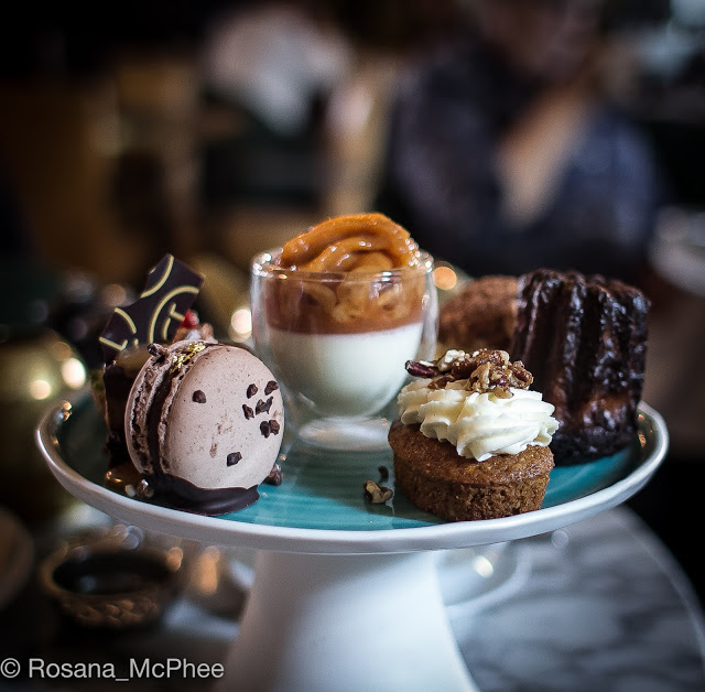 Afternoon tea, Barbecoa Piccadilly, London