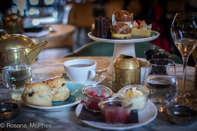 Afternoon Tea in London at Barbecoa Piccadilly