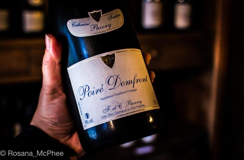 Poiré, fermented pears, Normandie, Normandy beverage