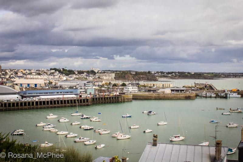 Granville, fishing port, Normandy