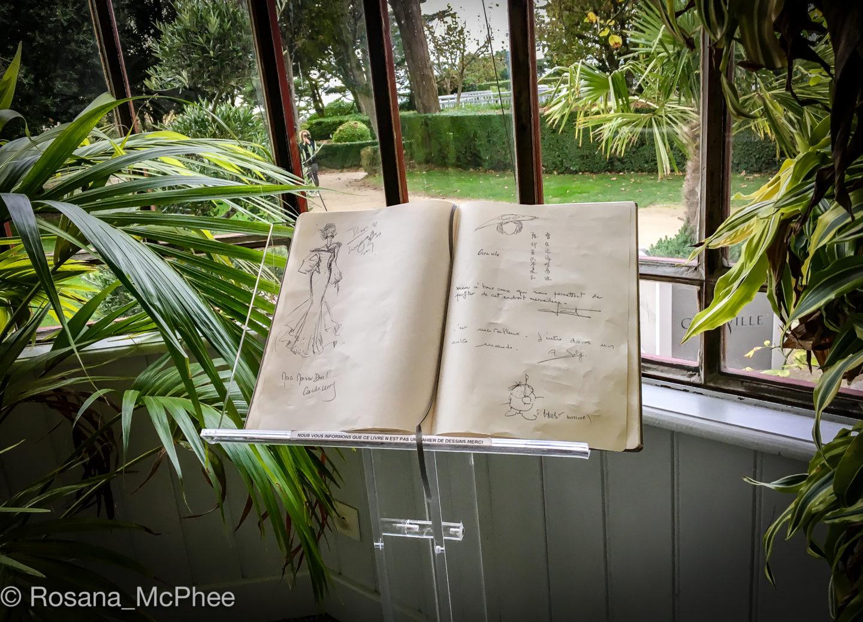 Dior, sketches