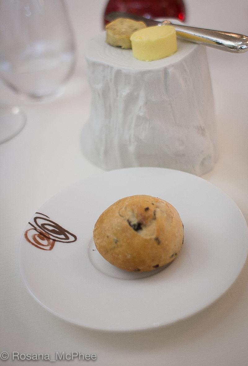 Cep butter, Salted butter, Mushroom bread roll