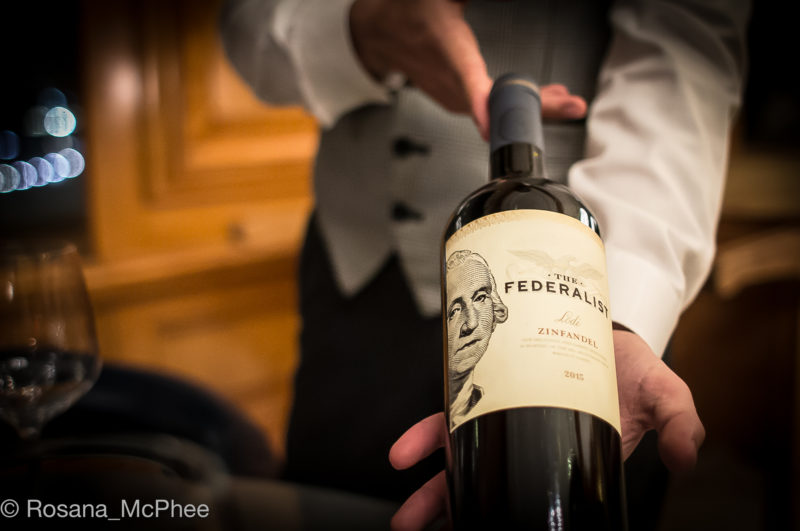 The Federalist, Zinfandel from California