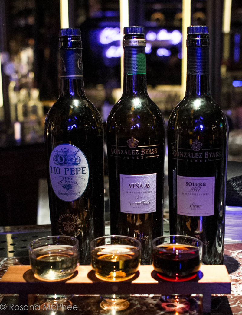 Exclusive bites and Sherry flight with Gonzalez Byass at Street XO