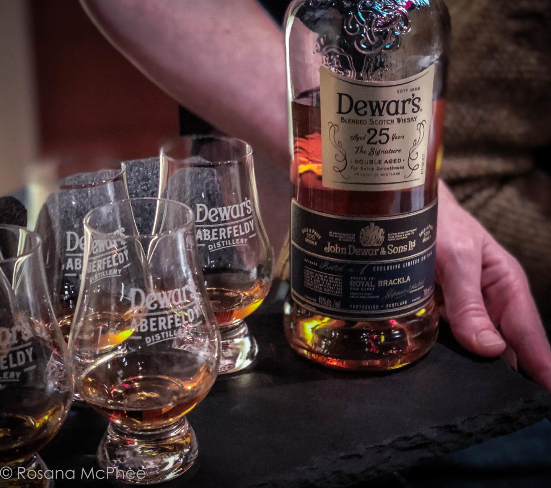 Visiting Dewar's Aberfeldy Distillery In The Scottish